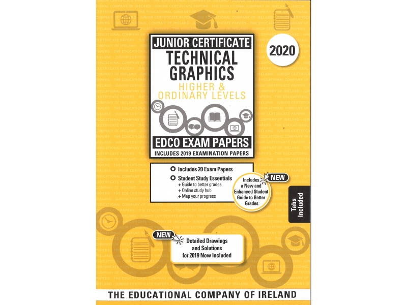 Junior Cert Technical Graphics Higher & Ordinary Level - Includes 2020 Exam Papers