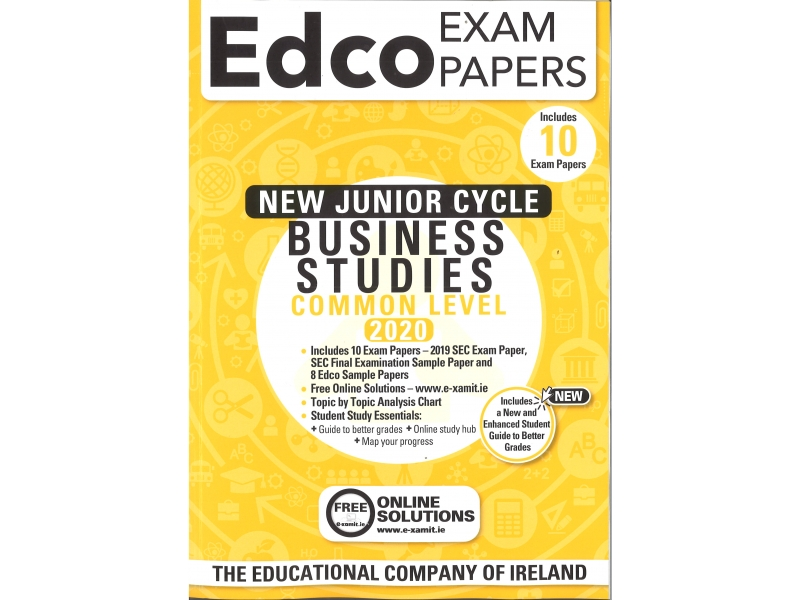 Junior Cycle Business Studies Common Level - Includes 2020 Exam Papers