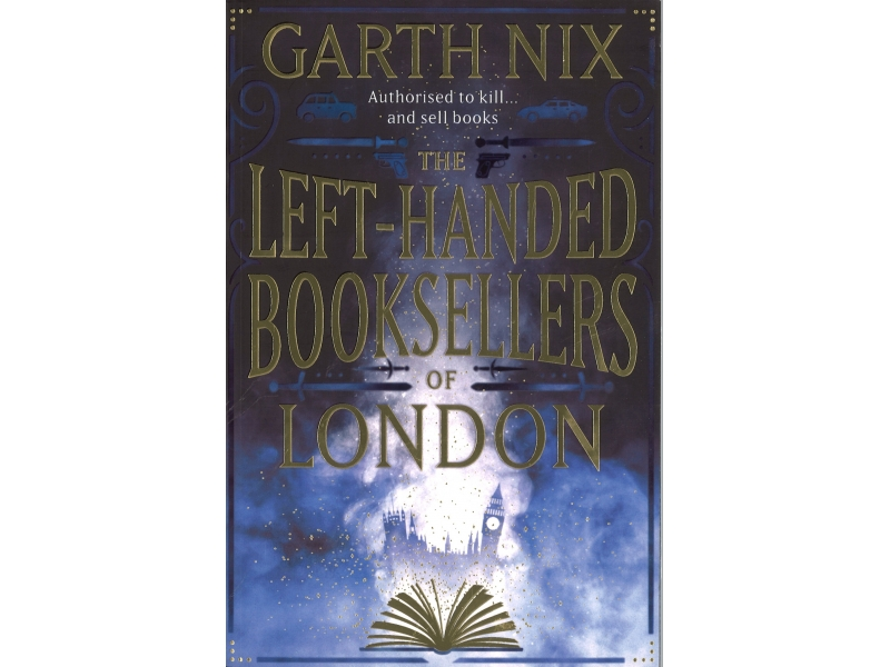 The Left-Handed Booksellers Of London - Garth Nix