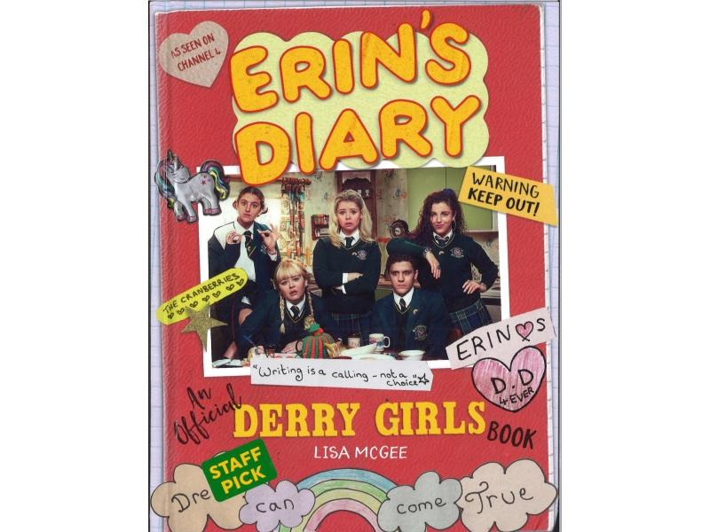 Erin's Diary - An Official Derry Girls Book - Lisa Mcgee