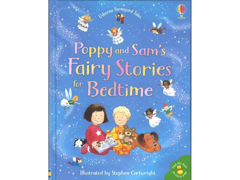 Poppy And Sam's Fairy Stories For Bedtime - Stephen Cartwright