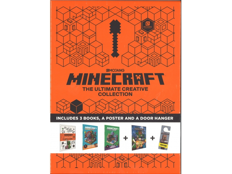 Minecraft - The Ultimate Creative Collection - Includes 3 Books, A Poster And A Door Hanger