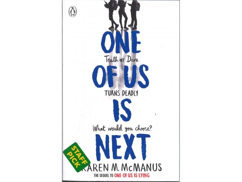 One Of Us Is Next - Karen Mc Manut