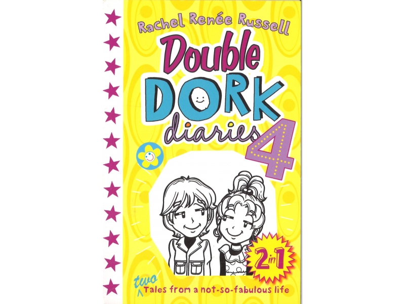 Double Dork Diaries 4 - Includes Tv Star & Once Upon A Dork
