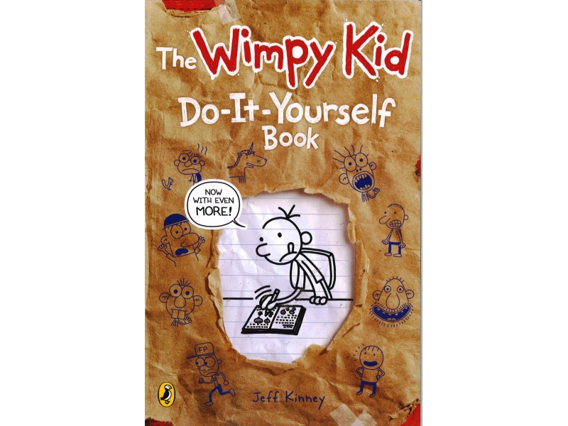 The Wimpy Kid - Do It Yourself Book