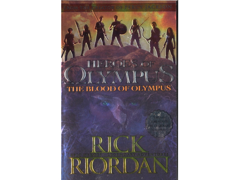 Rick Riordan - Heroes Of Olympus - The Blood Of Olympus