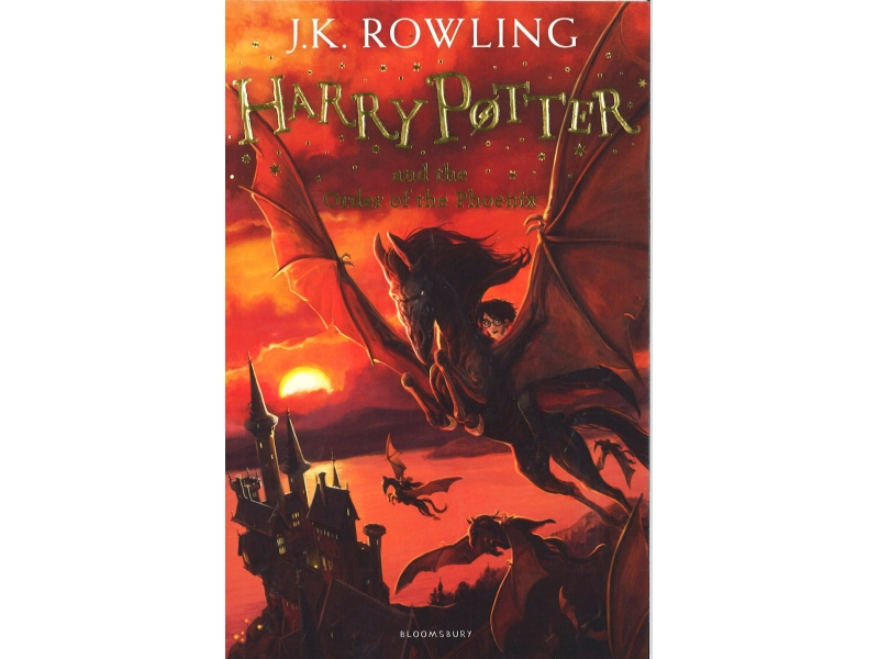 Harry Potter And The Order Of The Phoenix - Book 5 - J.K Rowling