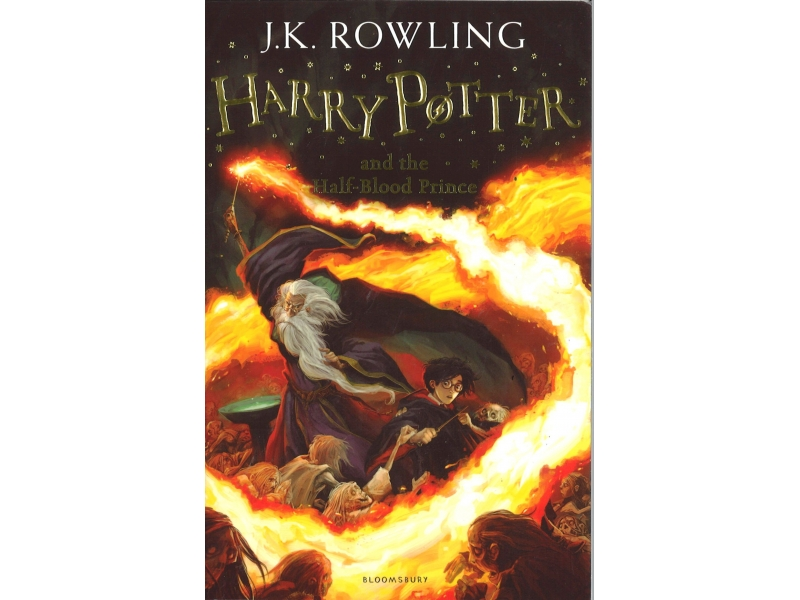 Harry Potter And The Half-Blooded Prince - Book 6 - J.K Rowling