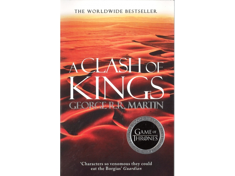 George R.R. Martin  - Game Of Thrones Book 2 - A Clash Of Kings