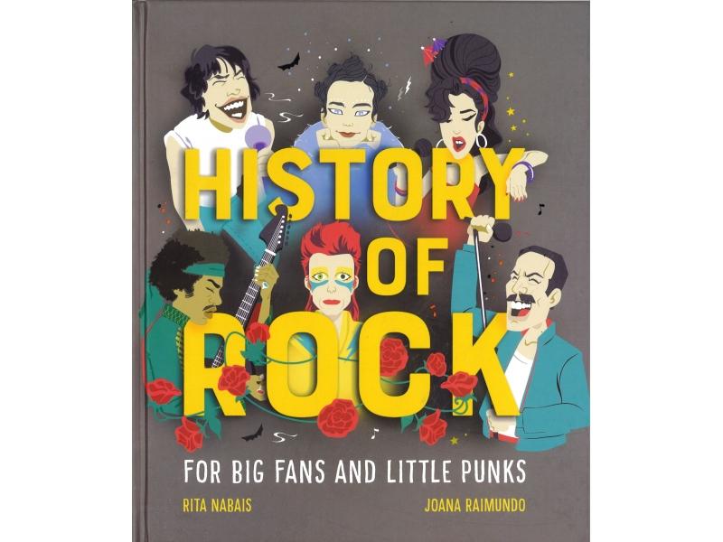 History Of Rock- Rita Nabais & Joana Raimundo