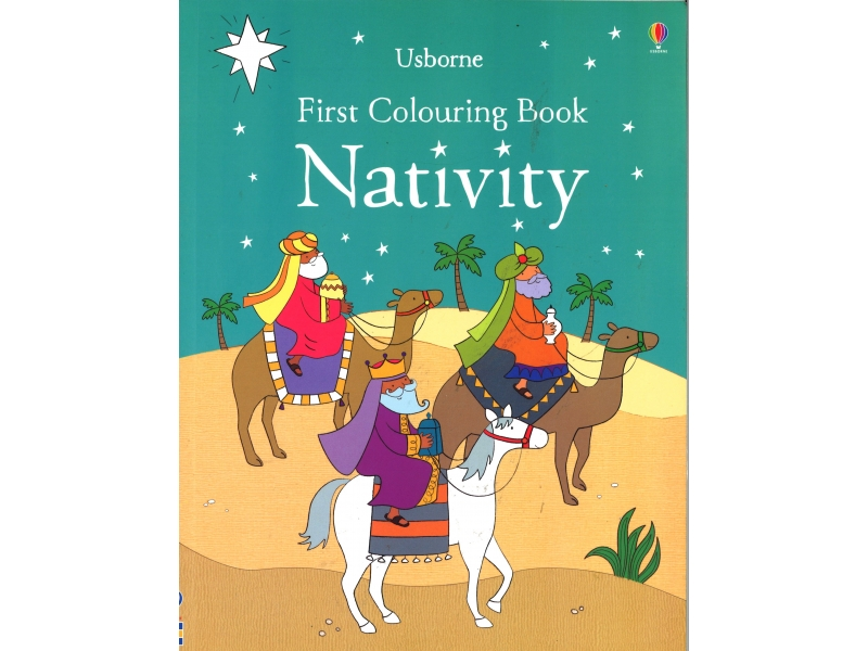First Colouring Book - Nativity