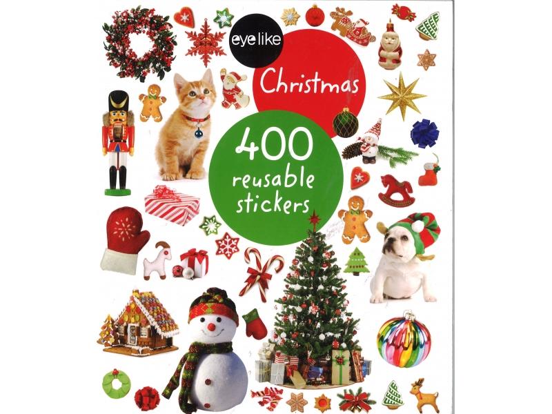 Christmas - 400 Reusable Stickers