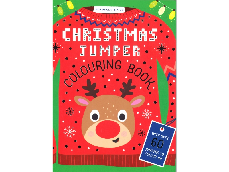 Christmas Jumper - Colouring Book