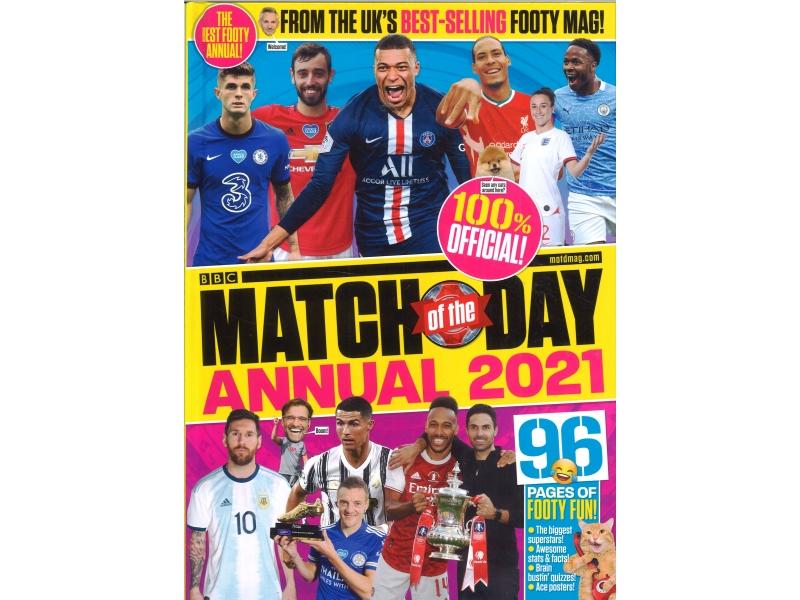 BBC Match Day Annual 2021