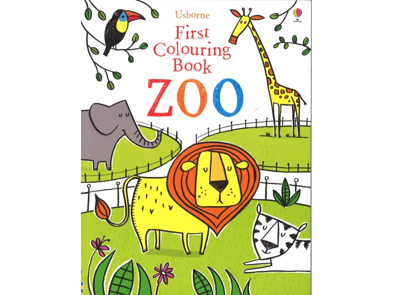 First Colouring Book - Zoo