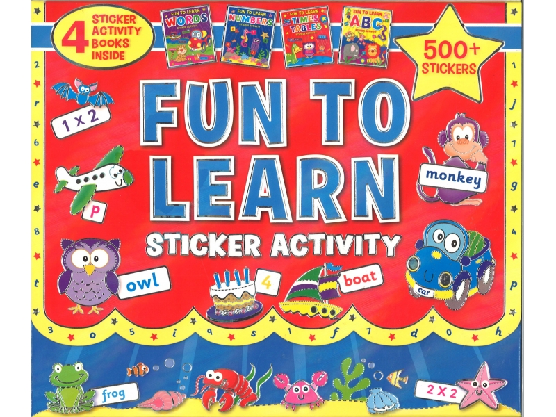 Fun To Learn - Sticker Activity