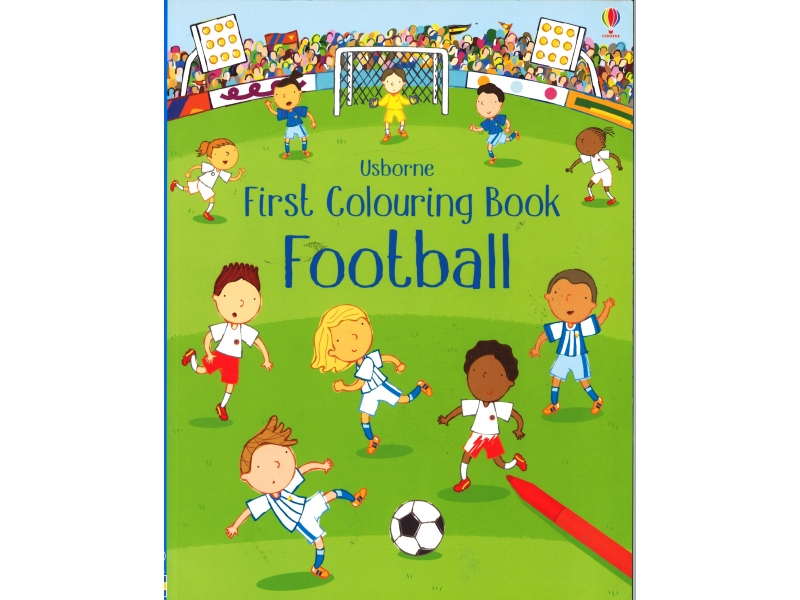 First Colouring Book - Football