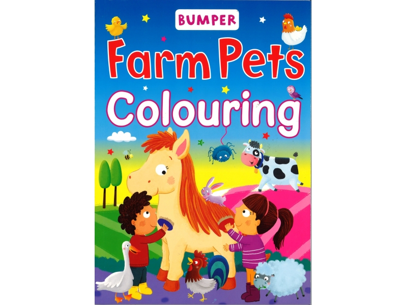 Bumper - Farm Pets Colouring
