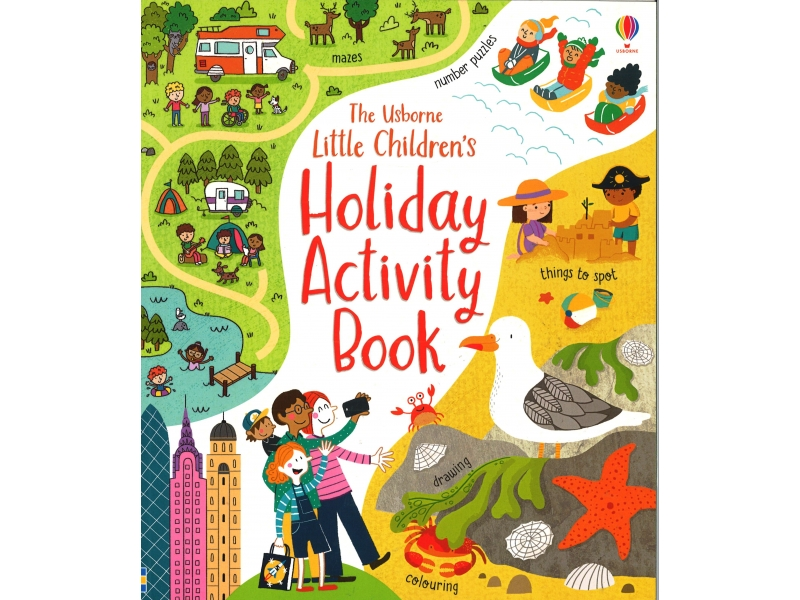 Little Children's Holiday Activity Book
