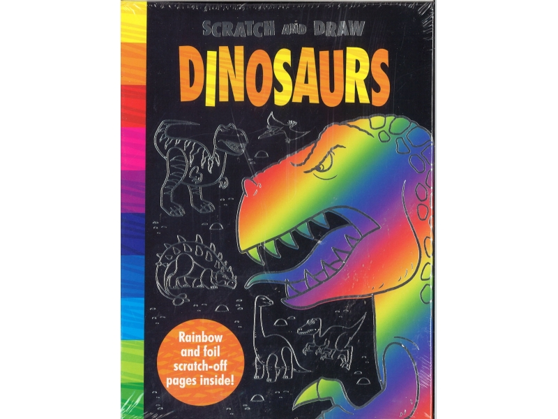 Scratch And Draw Dinosaurs