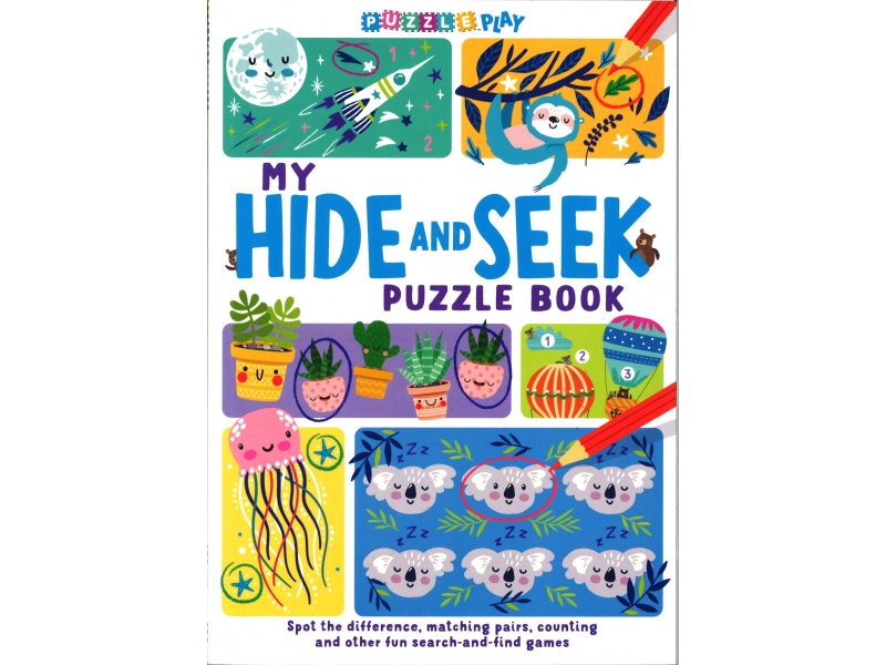 My Hide And Seek Puzzle Book