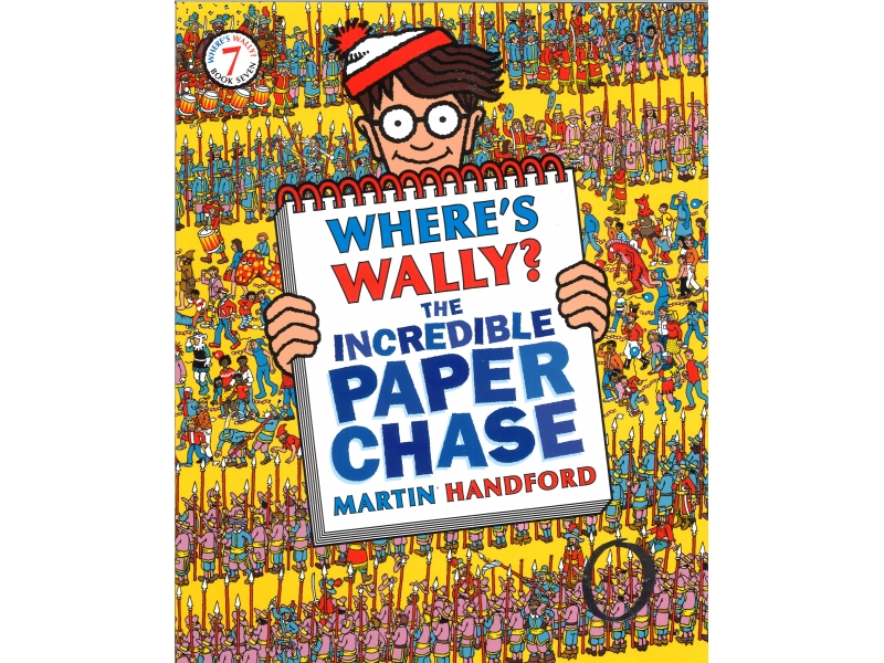 Where's Wally? - The Incredible Paper Chase