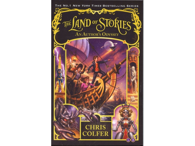 Chris Colfer - Book 5 - The Land Of Stories - An Author's Odyssey