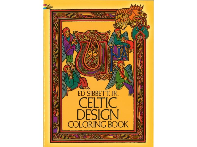 Ed Sibett, Jr - Celtic Design Colouring Book