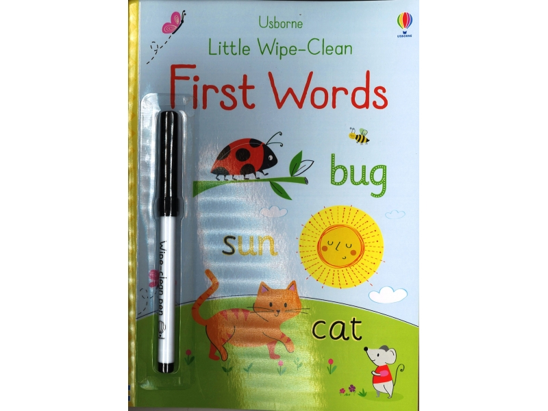 Little Wipe-Clean - First Words