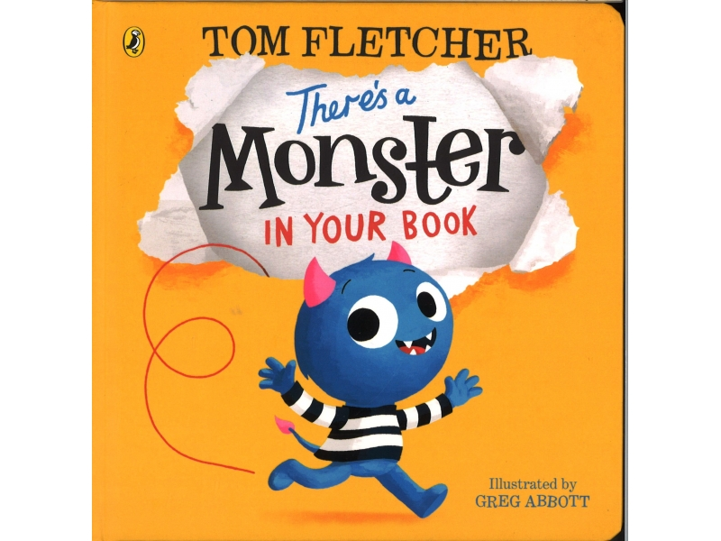Tom Fletcher - There's A Monster In Your Book