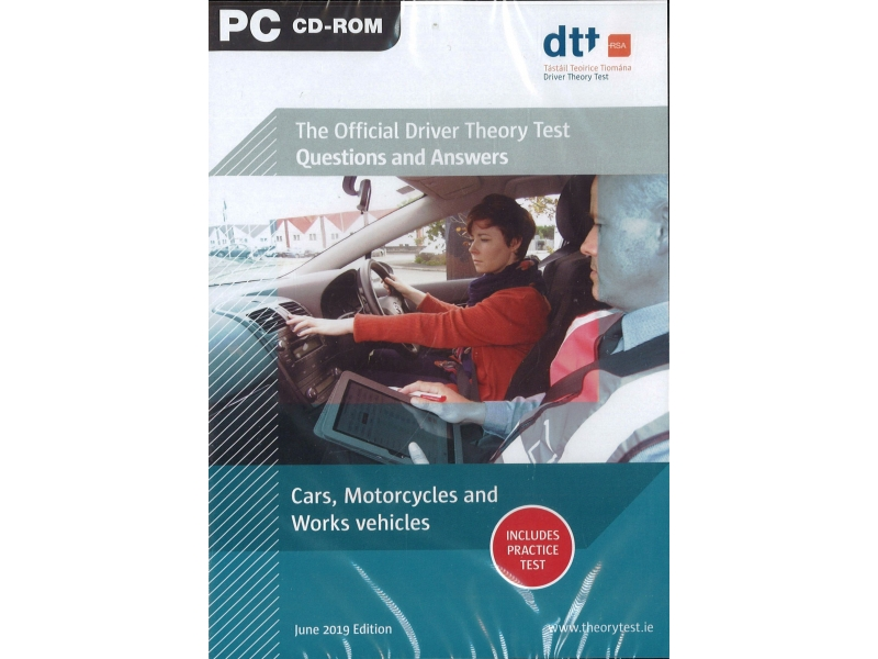 The Official Driver Theory Test Question And Answers - Cars, Motorcycles And Works Vehicles - PC Cd-Rom
