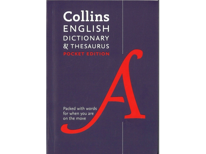 Collins Pocket Edition English Dictionary & Thesaurus
