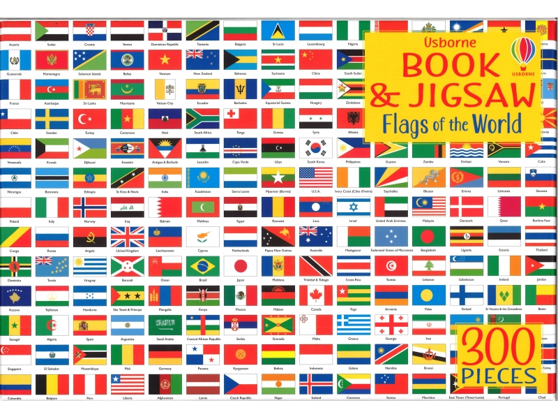 Flags Of The World - 300 Piece Jigsaw