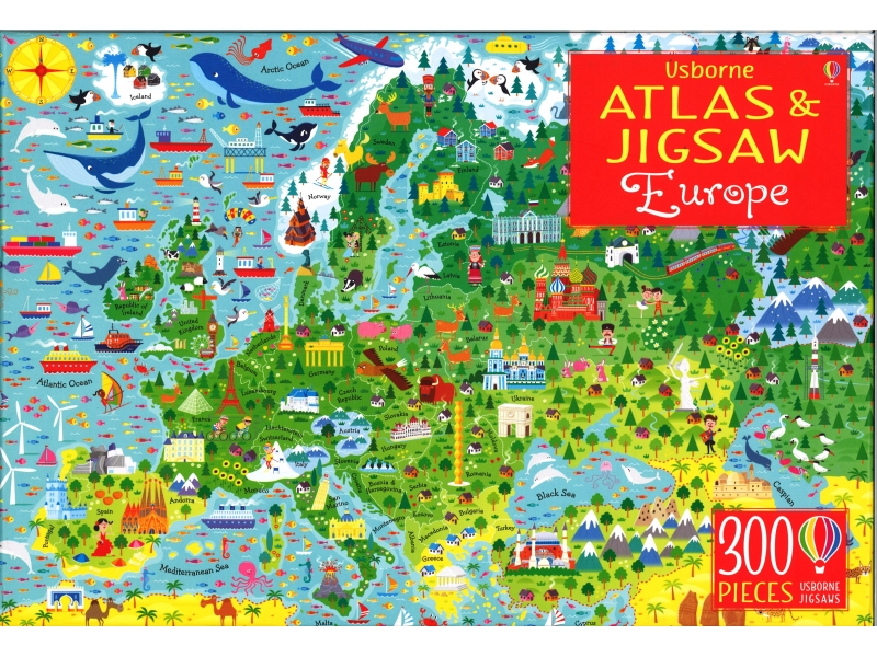 Europe - 300 Piece Jigsaw