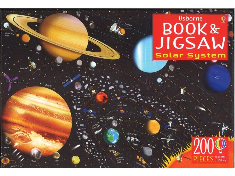 Solar System - 200 Piece Jigsaw