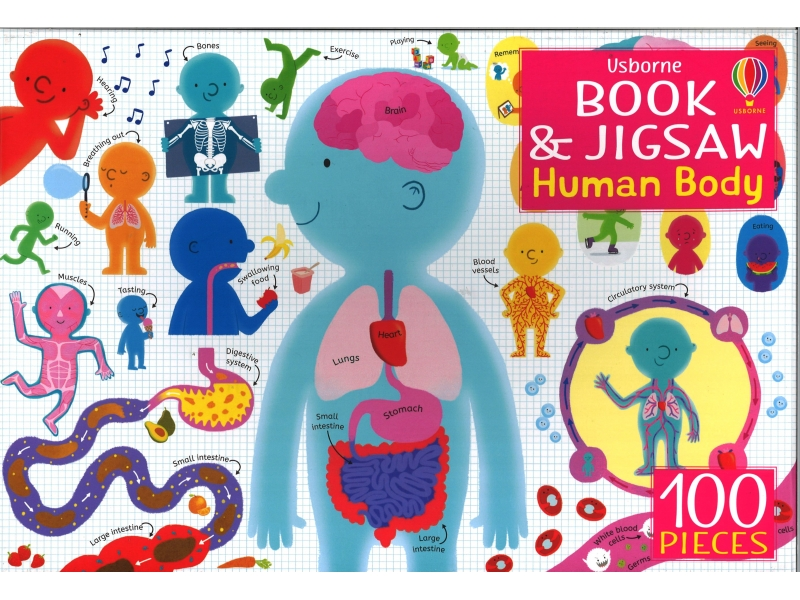 Human Body - 100 Piece Jigsaw