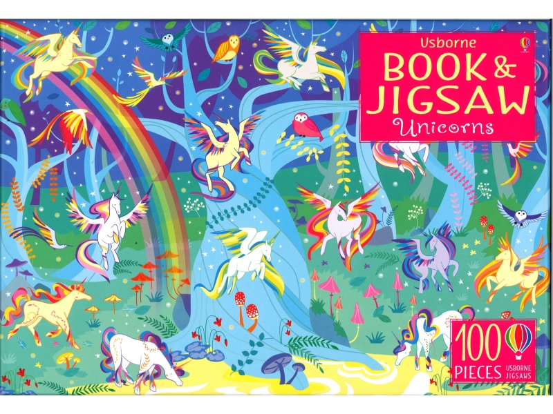 Unicorns - 100 Piece Jigsaw
