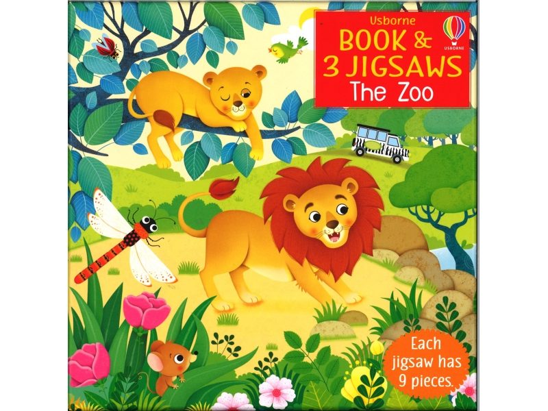 The Zoo - 9 Piece Jigsaw - 3 Jigsaws In Pack