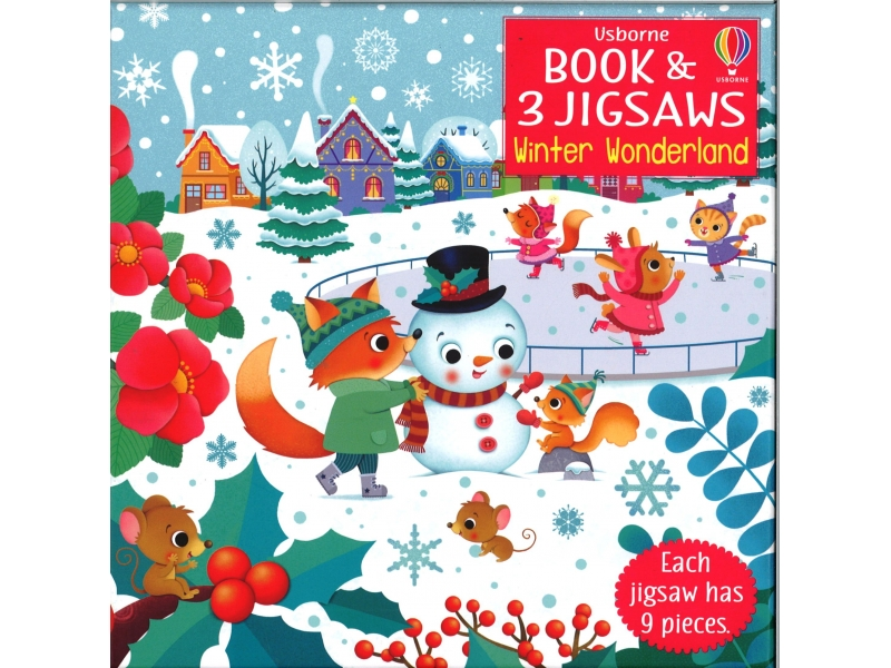 Winter Wonderland - 9 Piece Jigsaw - 3 Jigsaws In Pack