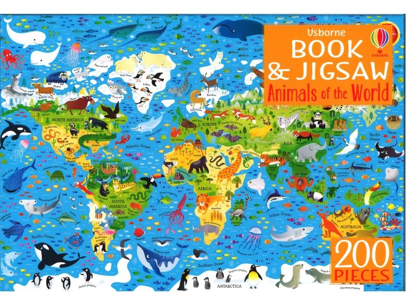 Animal Of The World - 200 Piece Jigsaw