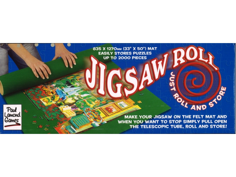 Jigsaw Roll / Tube For Storing Jigsaws
