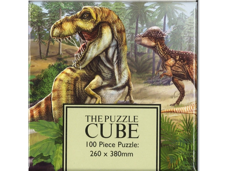The Puzzle Cube - 100 Piece Jigsaw