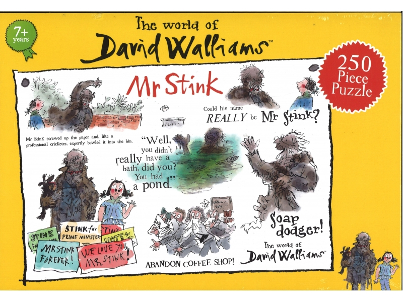 David Walliams - Mr Stink - 250 Piece Jigsaw
