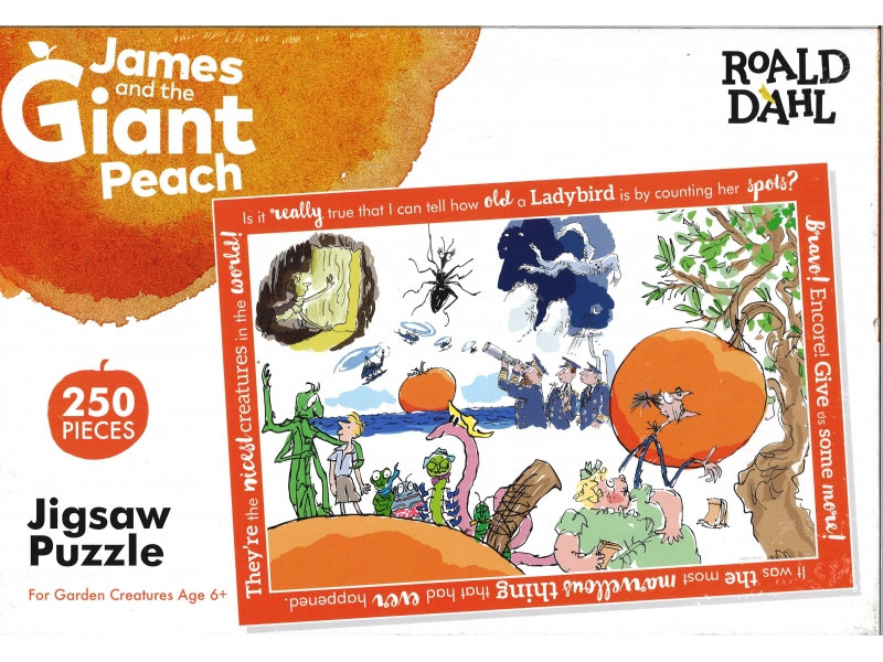 Roald Dahl - James And The Giant Peach - 250 Piece Jigsaw
