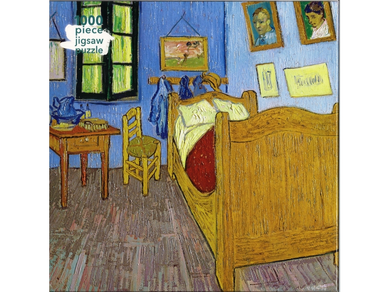 Bedroom At Arles - 1000 Piece Jigsaw