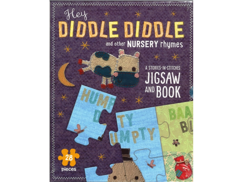 Hey Diddle Diddle And Other Nursery Rhymes - 28 Piece Jigsaw