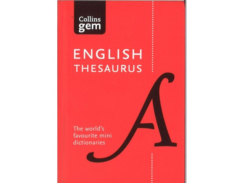 Collins Gem English Thesaurus