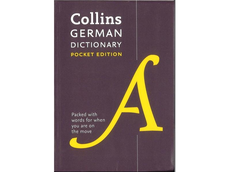 Collins Pocket Edition German Dictionary