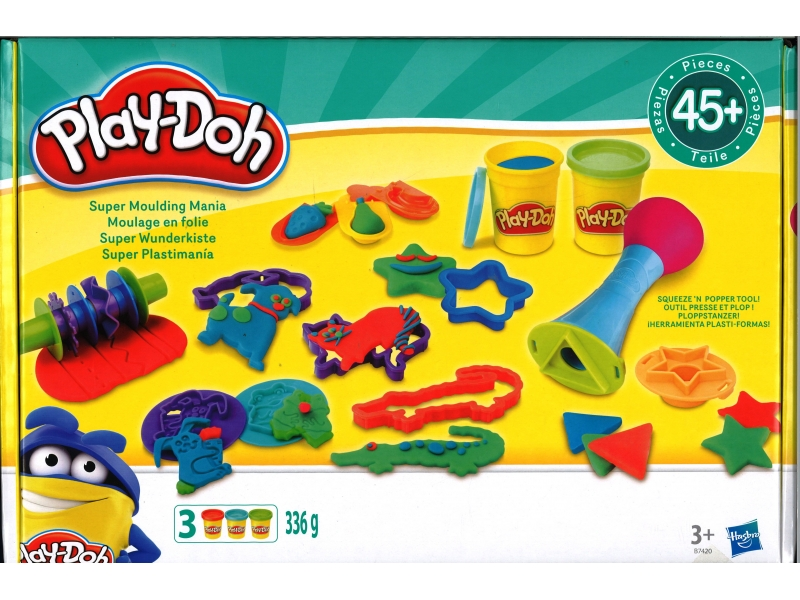 Play-Doh Super Moulding Mania