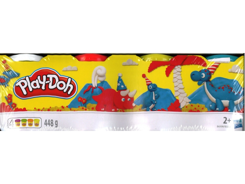Play-Doh 112g 4 Pack - Assorted Colours